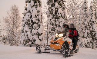 Moottorikelkkareittien monikäyttö kielletään lumipeitteen aikaan